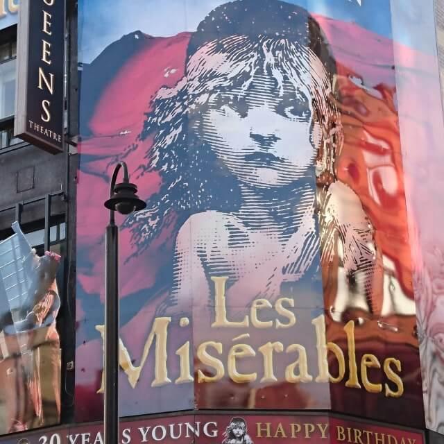 Les Miserables with La Famille!