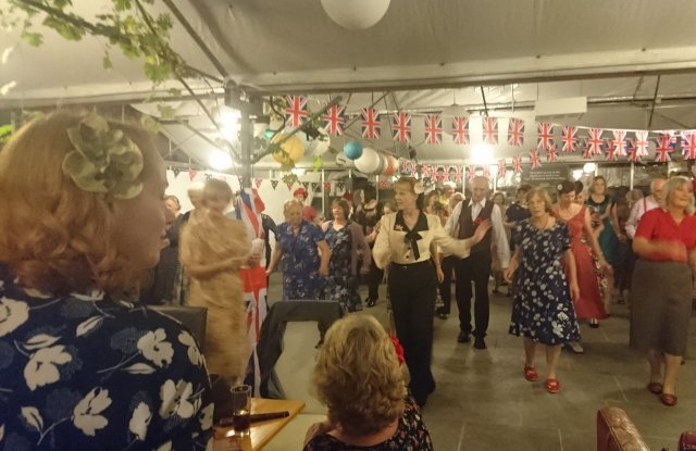 social-dance, 1940s-dance, dance-classes, barn-dance, social-foxtrot, lambeth-walk, breakaway-blues, square-tango, strolling, vintage-dance, vintage-style, vintage-hat, rations, ration-box