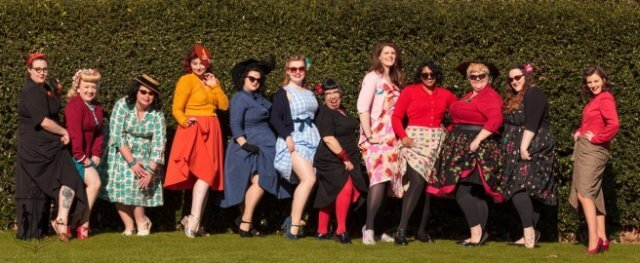 vintage-meet-ups, vintage-adventures, kew-gardens, vintage-style, vintage-ladies, pin-up-girls, pin-up-girl-clothing, original-vintage, blogger-babes, london-activities, london-weekend, vintage-friends, meetup, picnic, vintage-picnic, the-hive-at-kew, vintage-photos, vintage-fashion