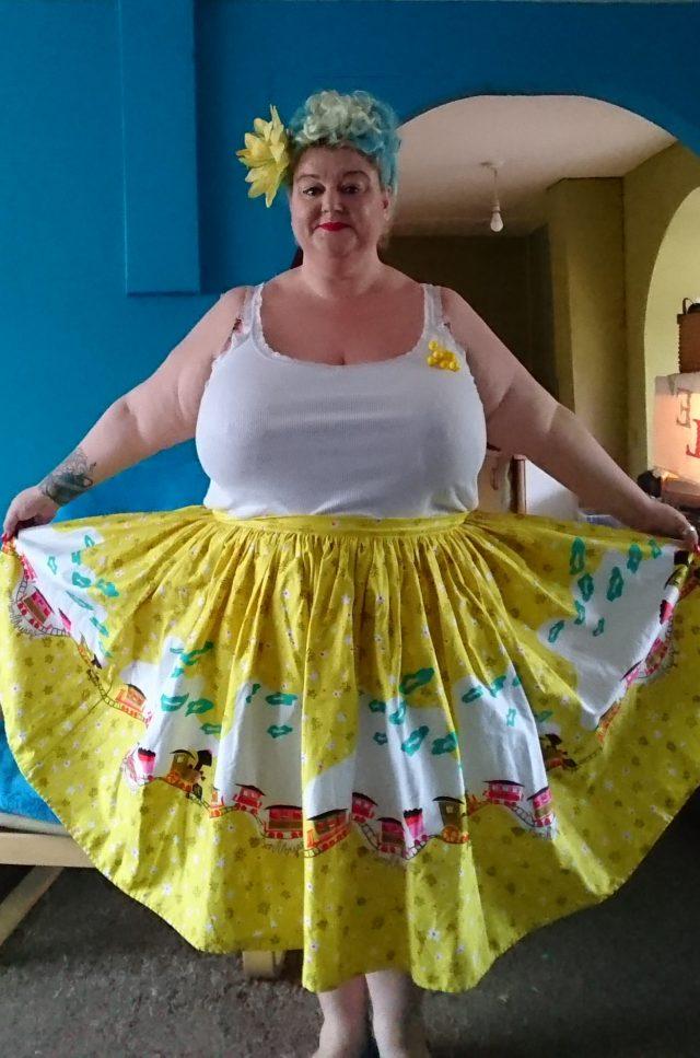 pin up girl clothing, jenny skirt, disneylandparis, eurostar, europeancitybreak