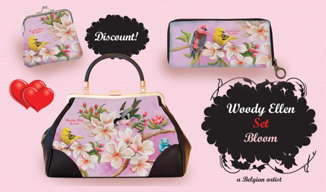 londonedge, blogger event, woody ellen, woody ellen bags, plus size bloggers, blogger babes, vintage style handbags, painting, painted handbags, woody ellen paintings, sweet swallow, eden collection, bloom collection