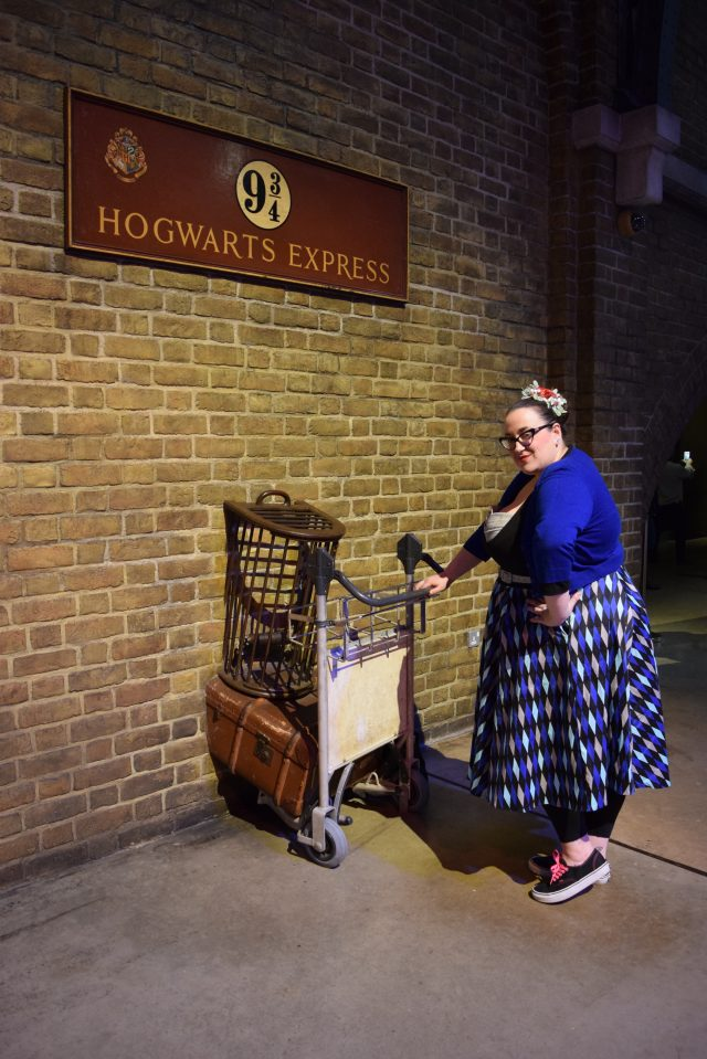 WB Studios, Harry Potter, Harry Potter Studios, Hogwarts, Hufflepuff, Ravenclaw, Slytherin, Gryffindor, The Great Hall, The Forbidden Forest, Death Eaters, Hogwarts Express, Privet Drive, Blogger Adventures, Blogger Besties, Plus Size Bloggers