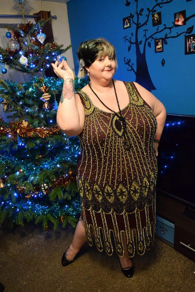 peacock pretties, plus size, plus size vintage, navabi clothing, peacock feathers, gatsbylady, dresses by gatsbylady, flapper dress, plus size flapper, plus size fashion, instafamous, instagram, plus size instagram