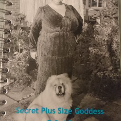 Personal Planner, Personal Journal, Diary, Vintage Style Photographs, Theodore the Chow Chow, Plus Size Blogger, Customised Diary, Organisation, Organised Planner